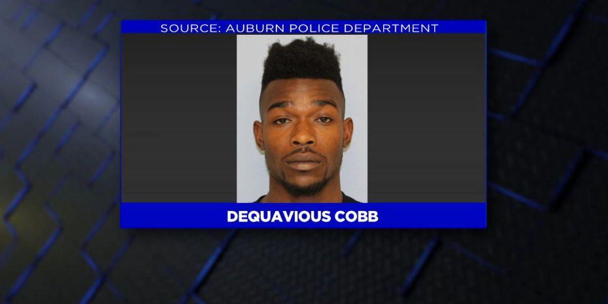 Man arrested for shooting into Auburn motel room, car