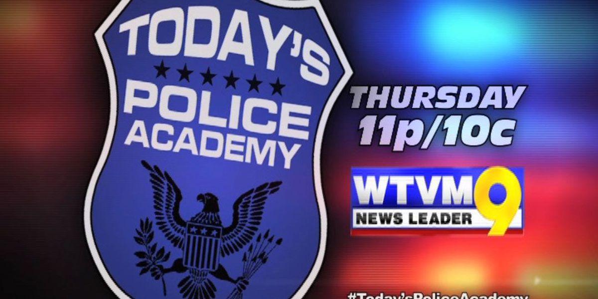 The Police Academy tough, intense process
