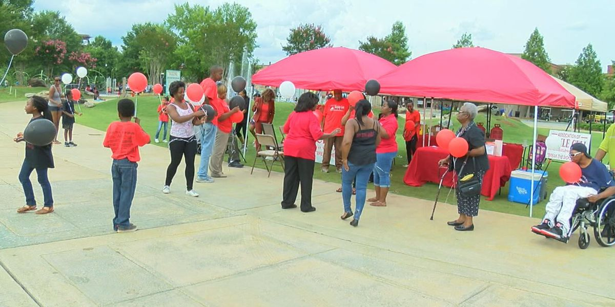 Balloon release held on world sickle cell day