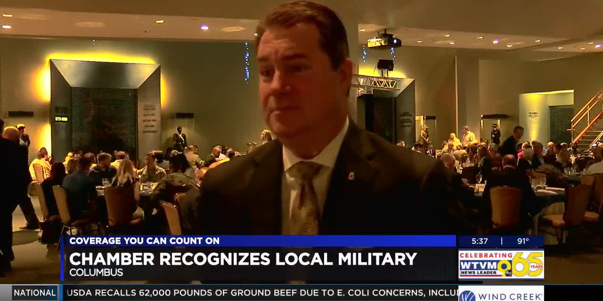 Columbus Georgia Chamber of Commerce hosts Military Appreciation Breakfast