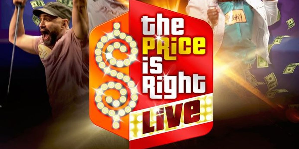 Come on down! You could be the next contestant on 'The Price is Right...' kinda