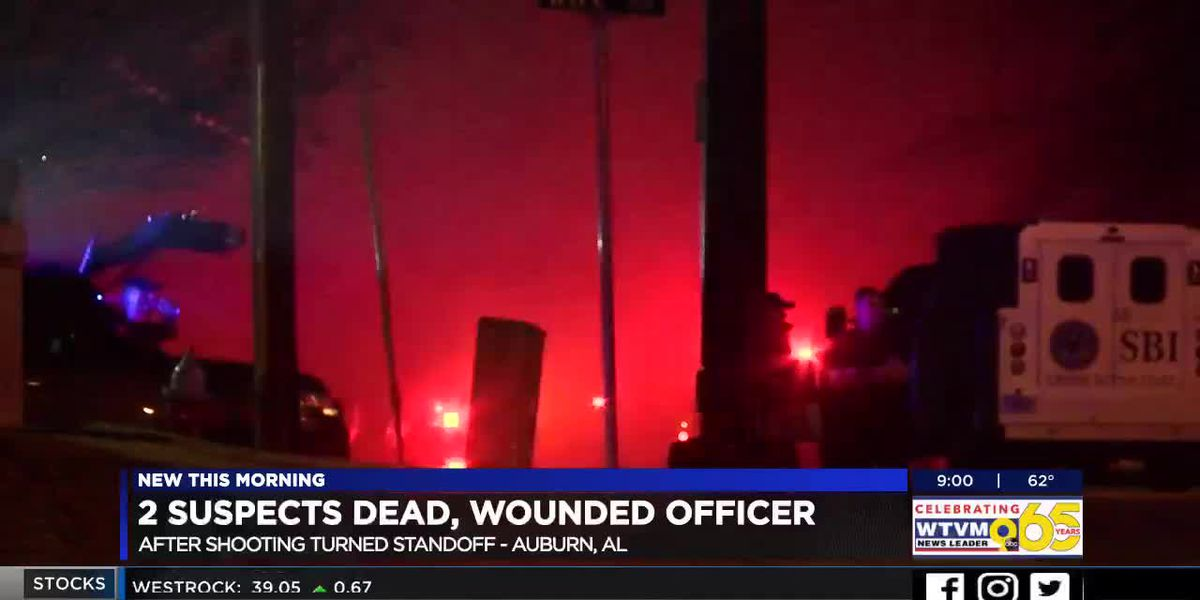 Suspect in Auburn officer shooting dies in fire during standoff