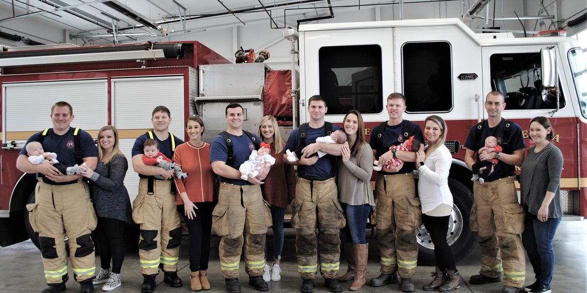 7 Opelika firefighters welcome newborns within 3 months