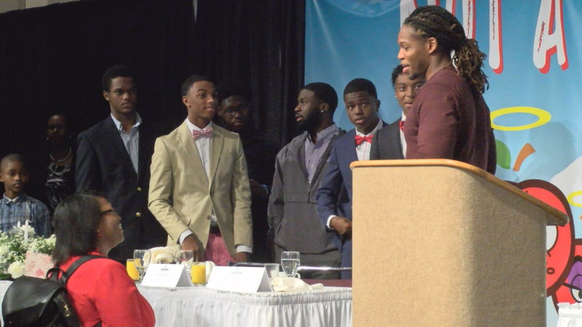 Men's Empowerment Breakfast aims to motivate at-risk youth