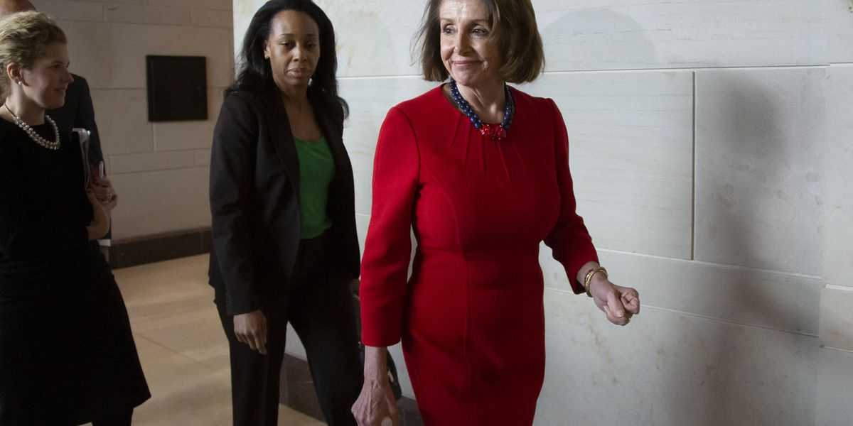 Pelosi, foes clinch deal all but paving her way to speaker
