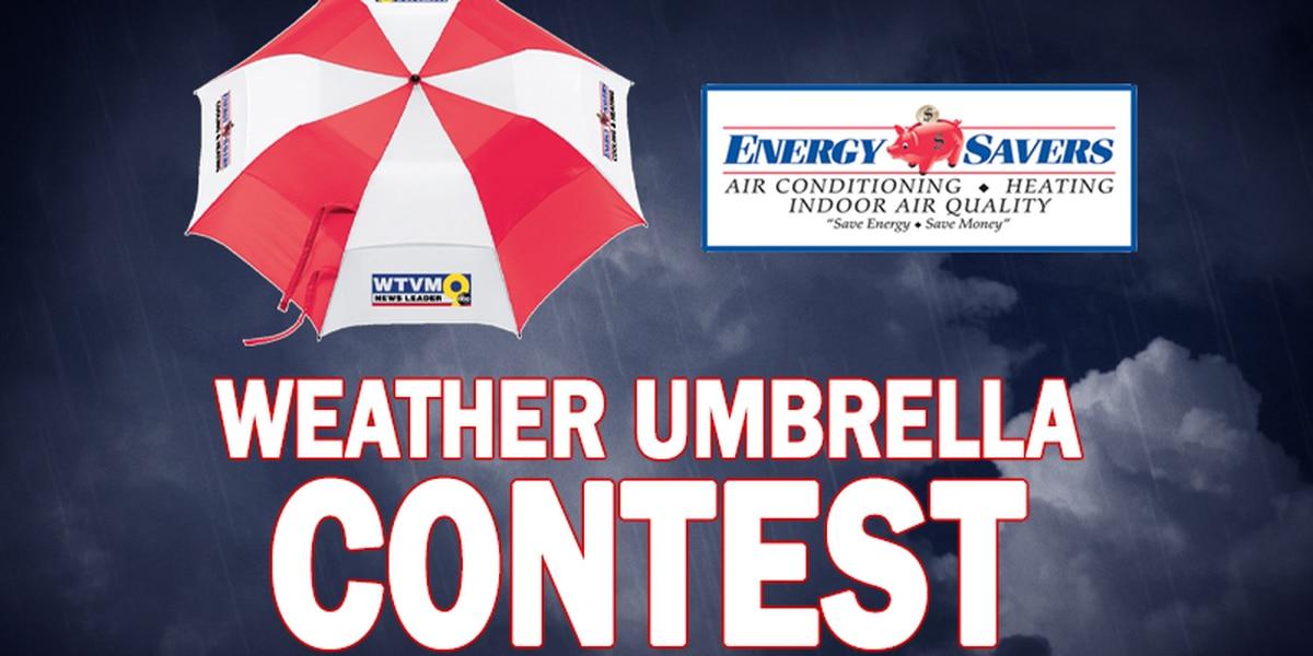 Beat The Rain Weather Umbrella Contest