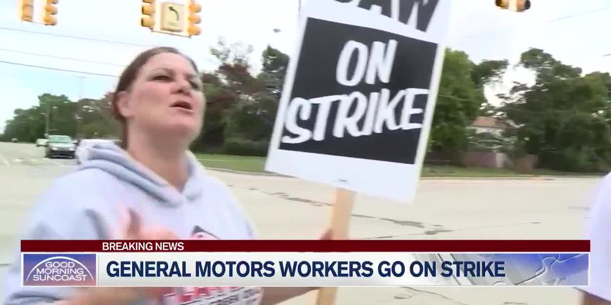 Auto strike idles more than 50 GM factories and warehouses