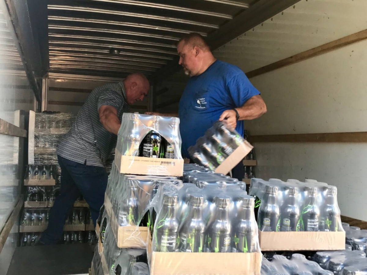 Cataula-based sports drink company provides assistance in NC