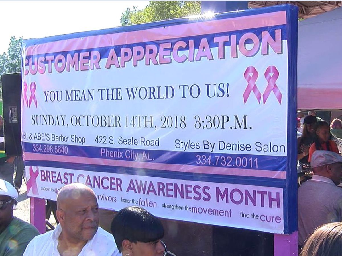 Customer appreciation block party highlights those battling cancer