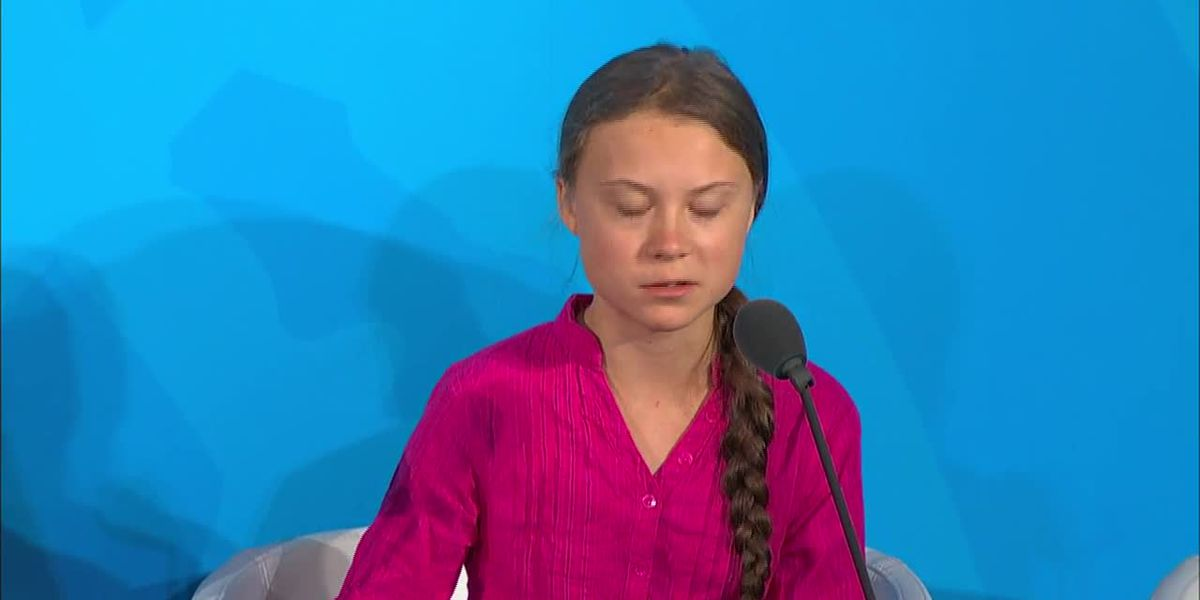 Greta Thunberg criticizes lack of action on climate in UN speech