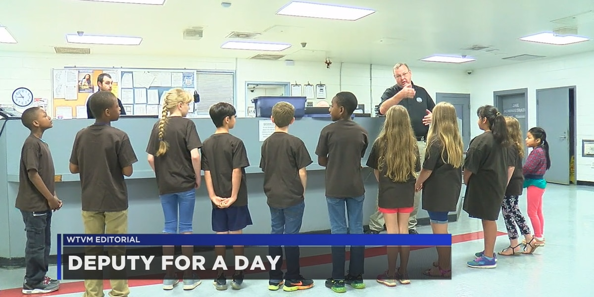 WTVM Editorial 5-14-19: Deputy for a Day