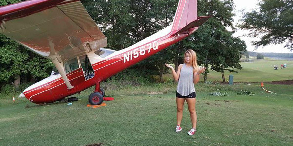 PHOTO: GA teen makes emergency plane landing on golf course