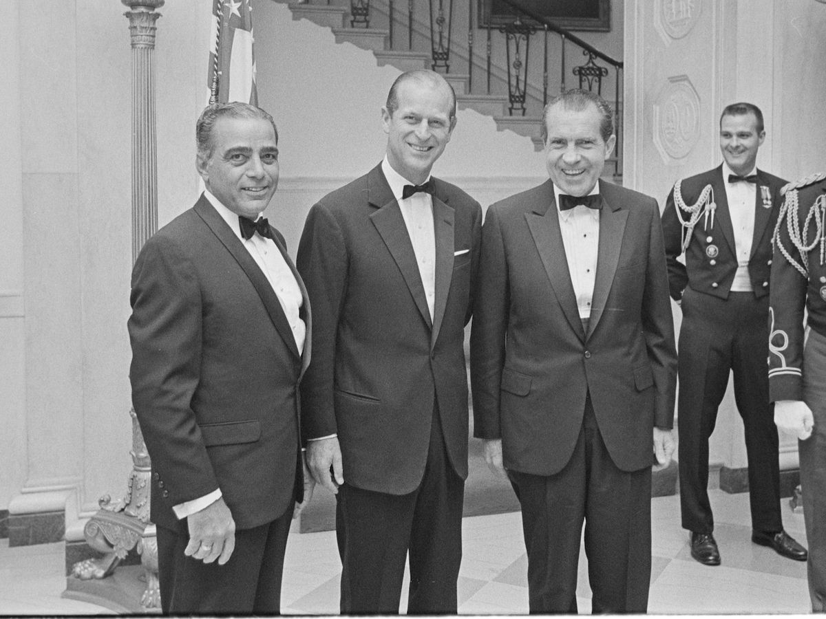 Princely letter: Philip apologized to Nixon for 'lame' toast
