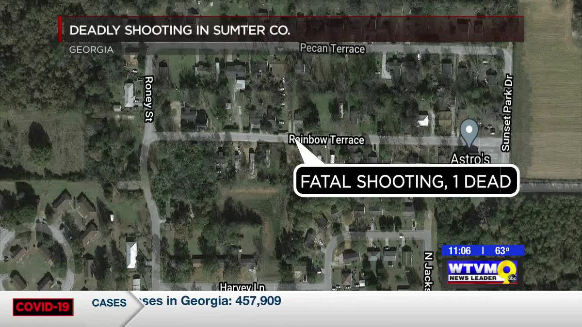 Shooting in Sumter Co. leaves one person dead; suspect in custody