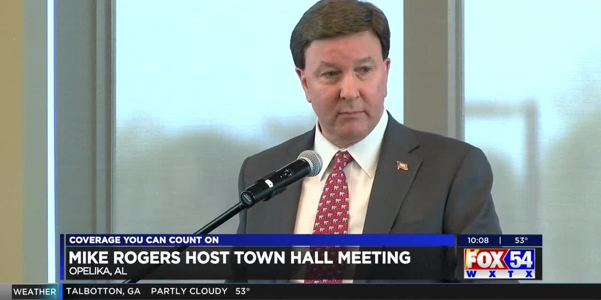 Congressman Mike Rogers visits Opelika for town hall meeting