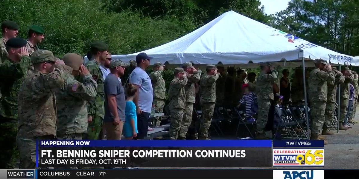 Annual Ft. Benning sniper competition kicks off for the eighteenth year