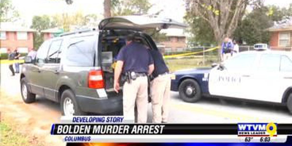 Suspect arrested Sunday, accused of shooting death of Robert Bolden