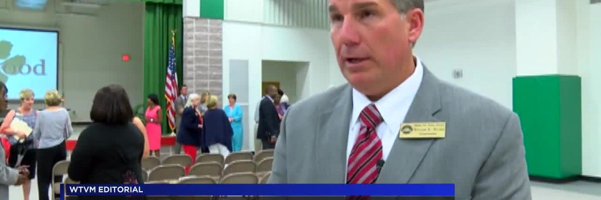 WTVM Editorial 10/15/18: Dr. Wilkes is #1