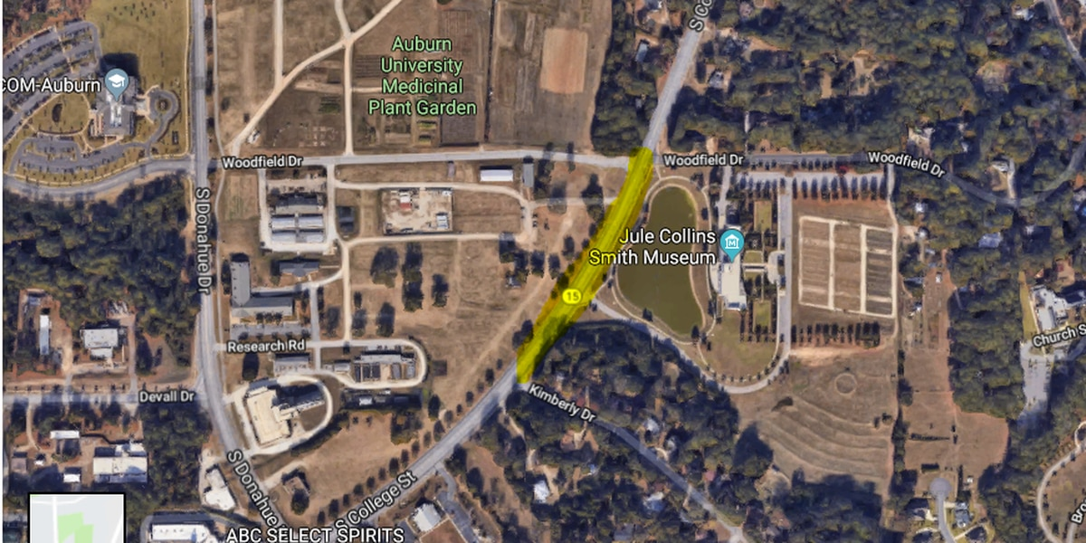 South College Street in Auburn to be partially closed until June