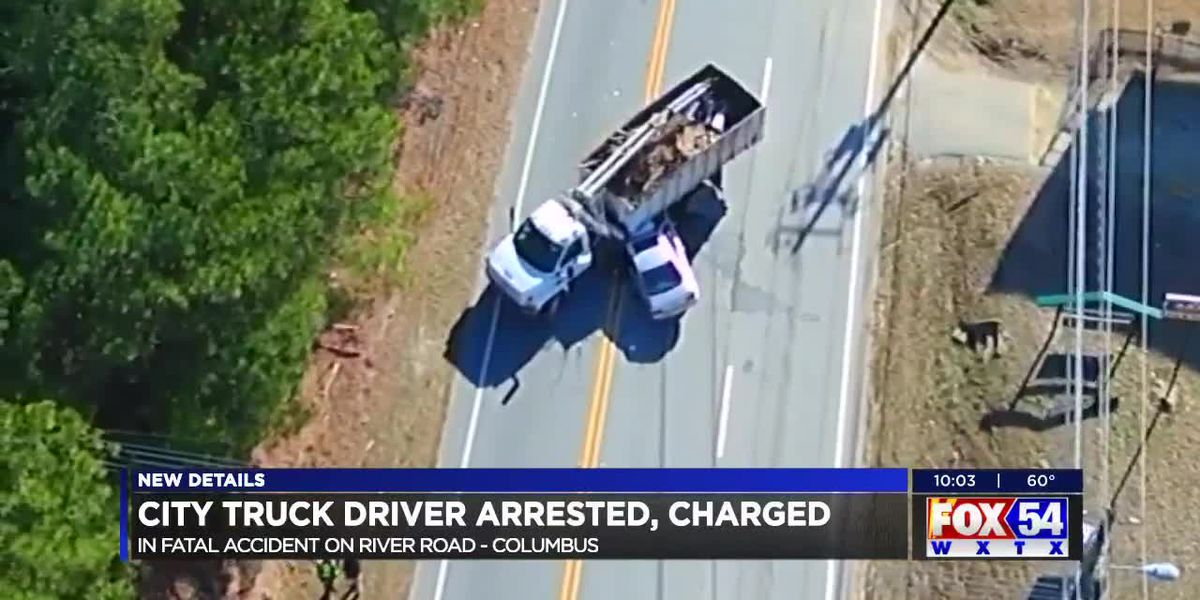 City truck driver arrested, charged in fatal accident on River Rd. in Columbus