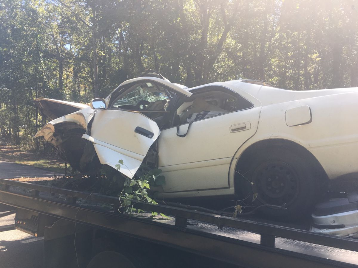 First responders rescue woman trapped in car for nearly 24 hours after accident in Auburn