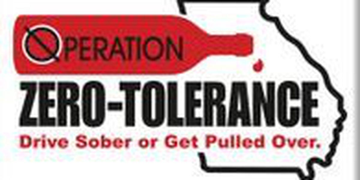 'Operation Zero Tolerance' launching program to deter holiday drunken driving