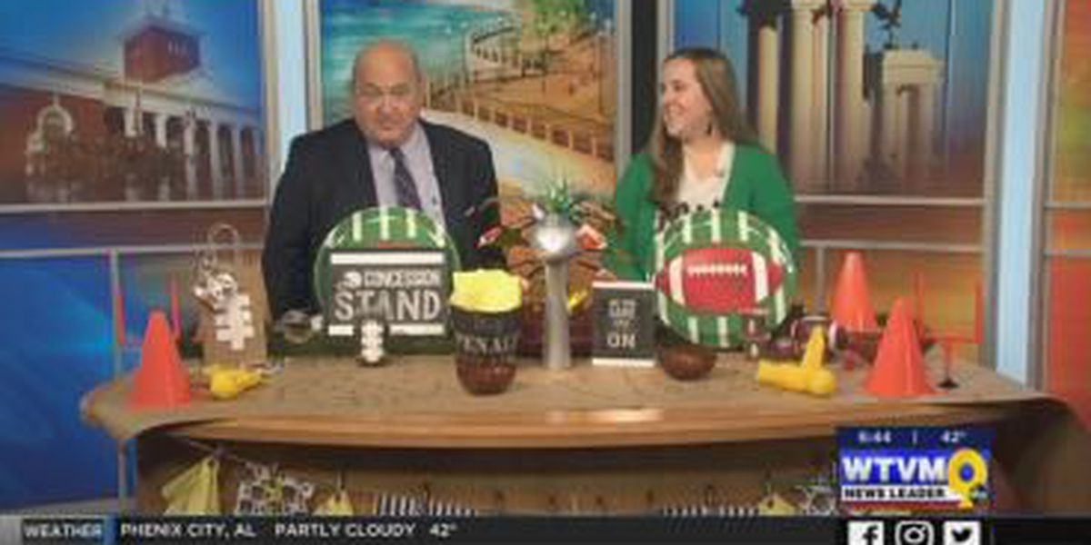 """SEGMENT: Decorating for Super Bowl party with a """"master crafter"""""""