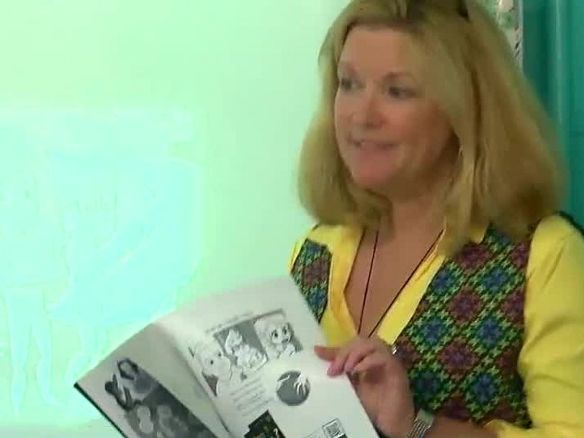 CSU professor delivers math-inspired comic book to local elementary students