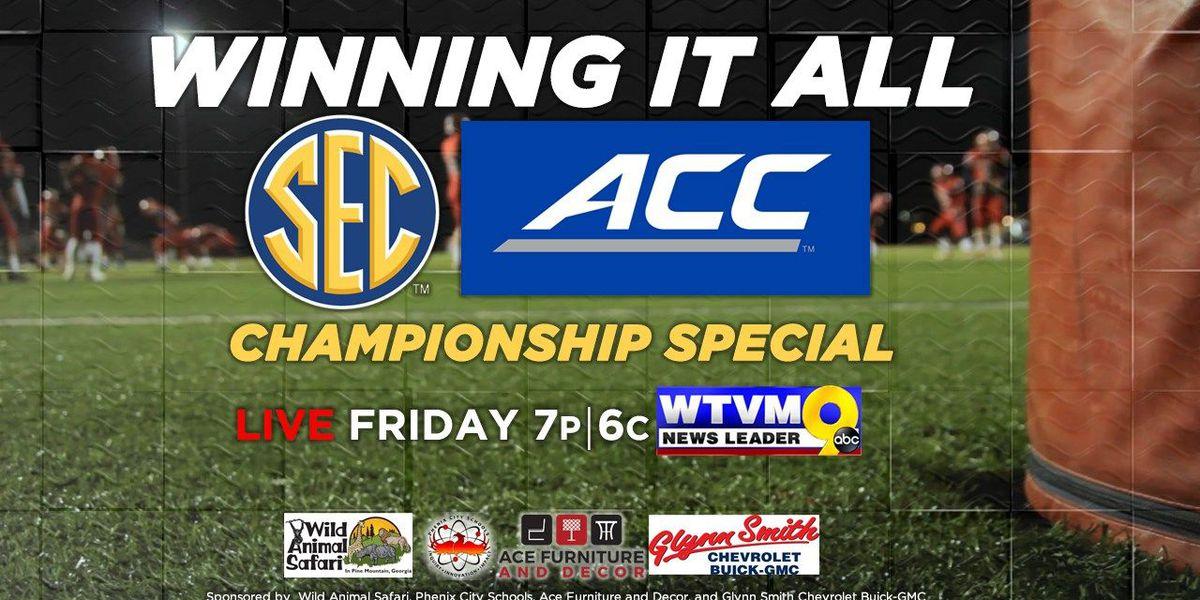 Winning it All: WTVM's SEC, ACC Championship Special