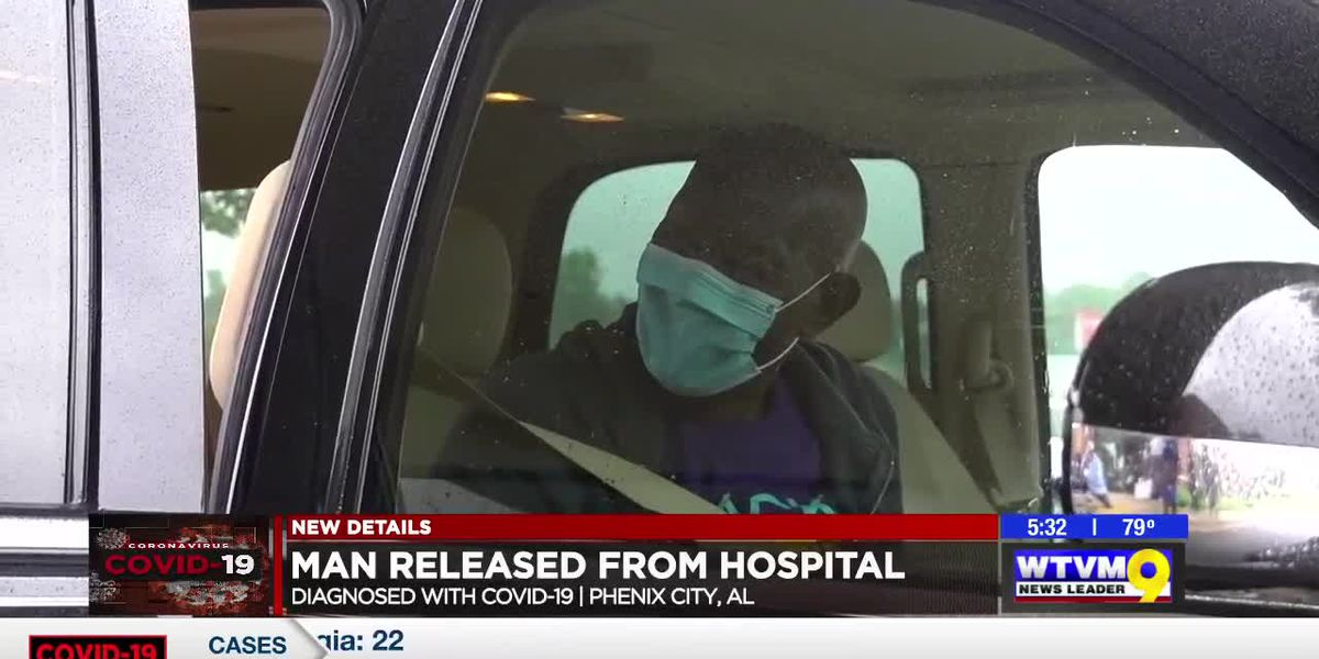 Man released from Phenix City hospital after battling COVID-19 for over 2 months