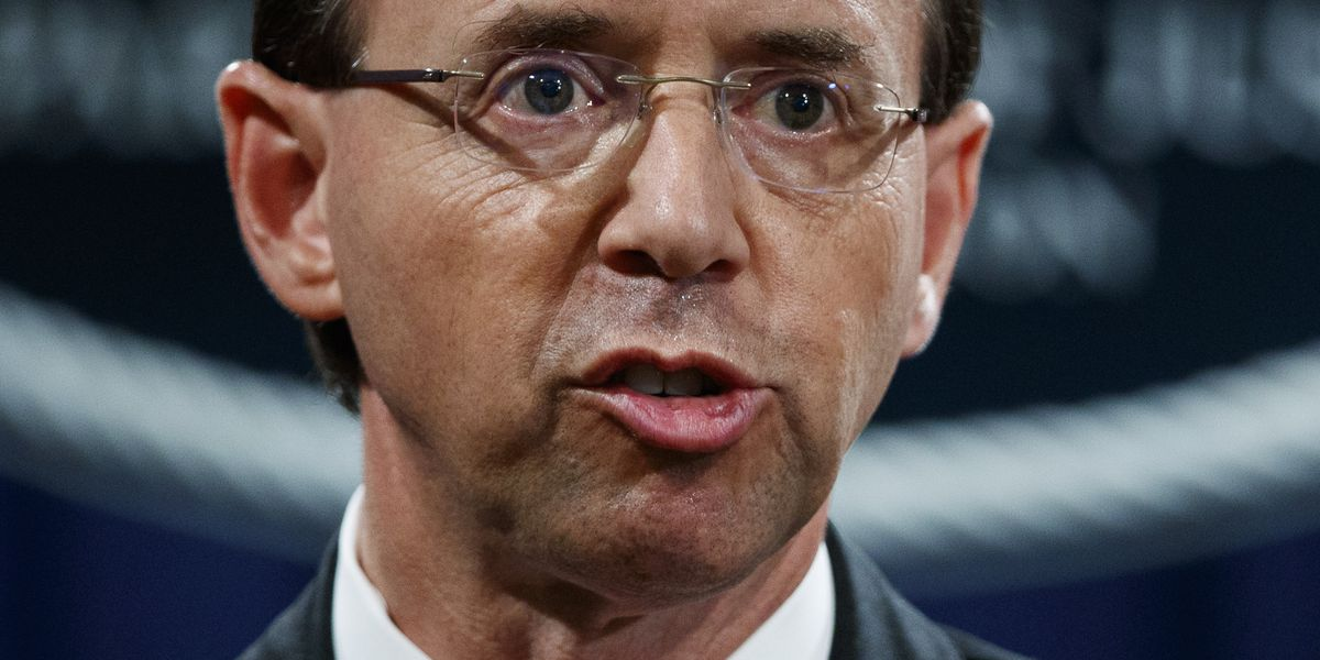 Tue. 8:34 am: WH mum on whether Trump confident in Rosenstein