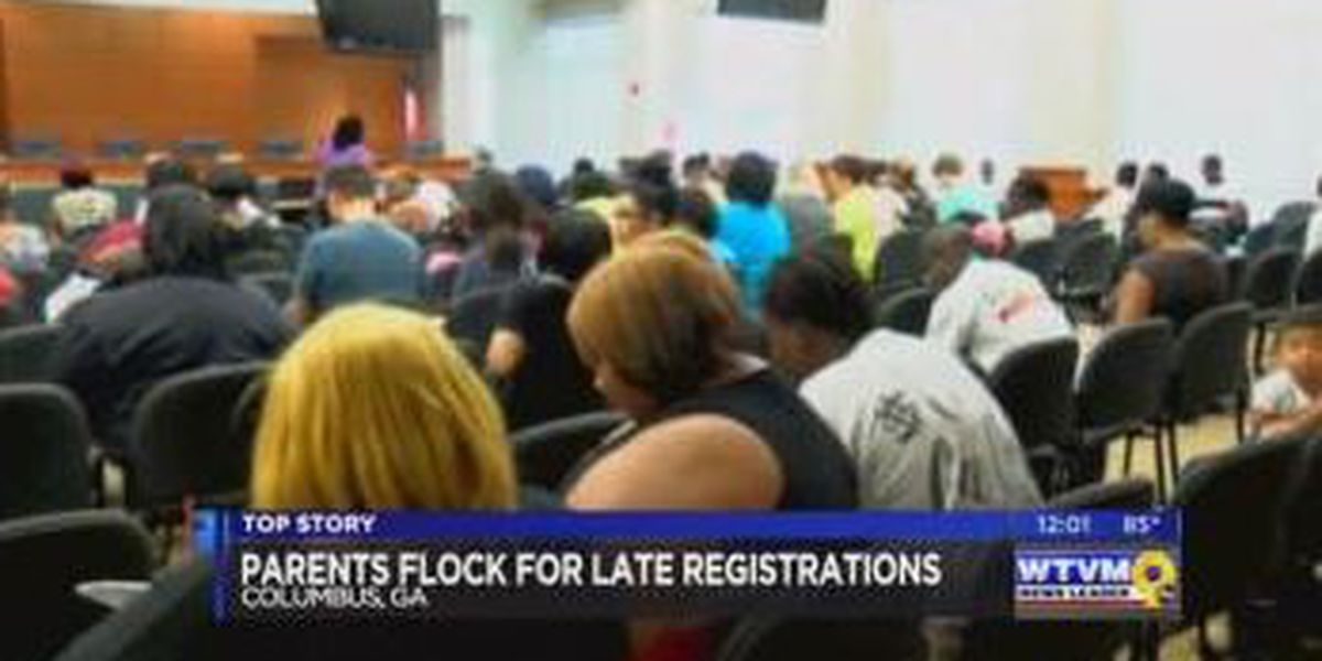 Hundreds absent on first day of school