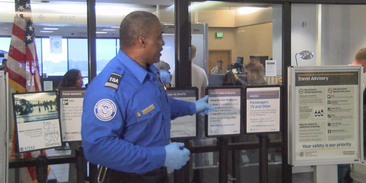 TSA: Guns in airports on the rise