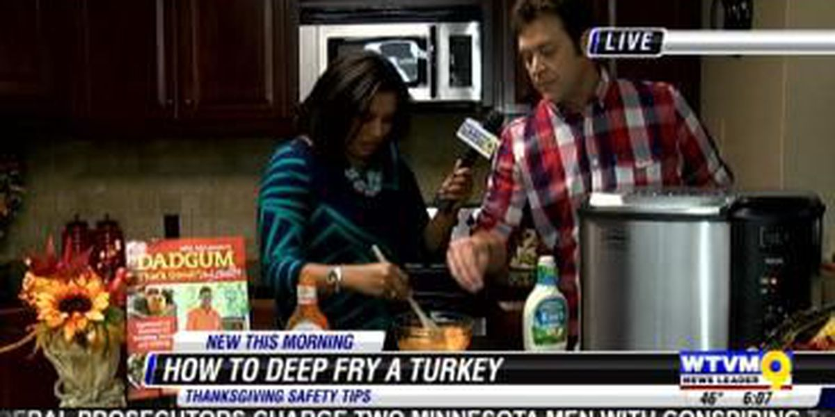 How to deep fry turkey safely for your Thanksgiving feast