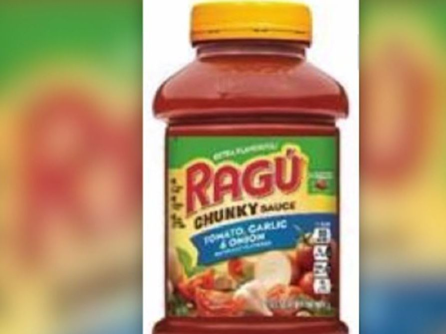 Ragu recalls some pasta sauces because of the possibility of plastic contamination