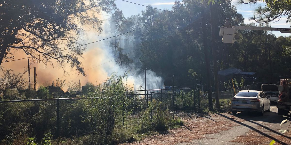 Fire crews battle structure fire on Fairview Dr. in Phenix City