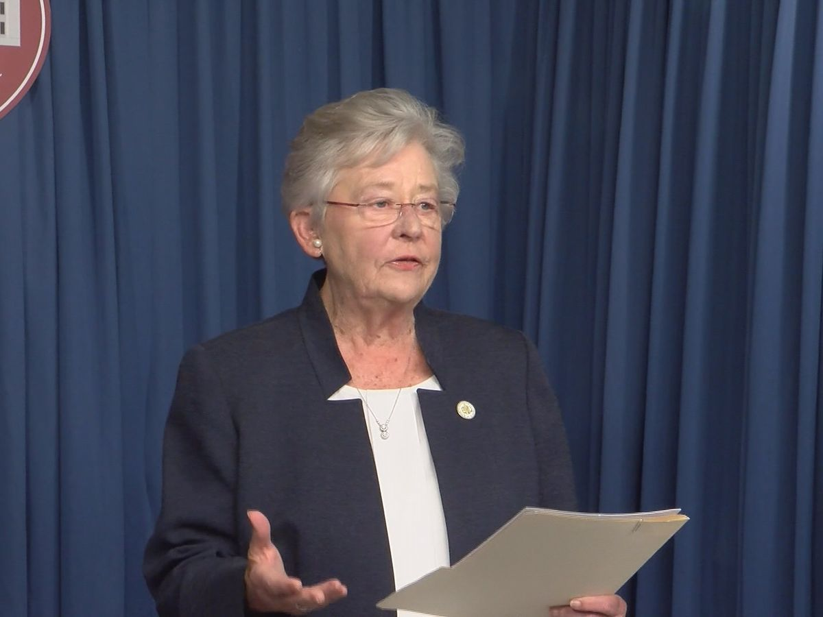 Gov. Ivey awards $1.6 million in grants to battle illegal drugs in Alabama