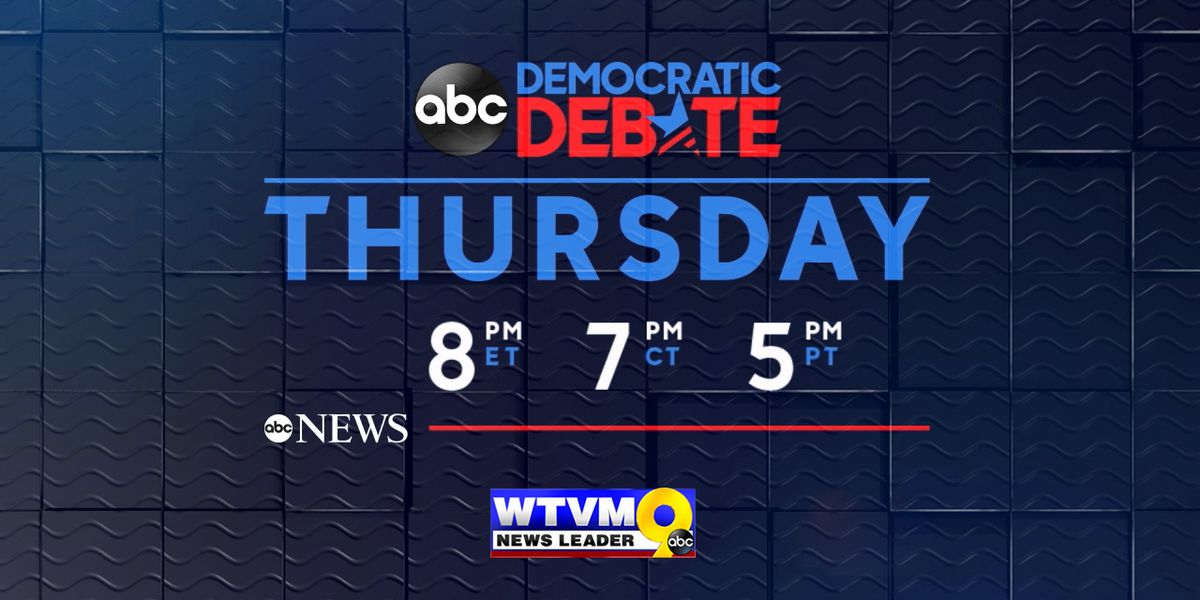 WATCH LIVE: Third Democratic Presidential Debate