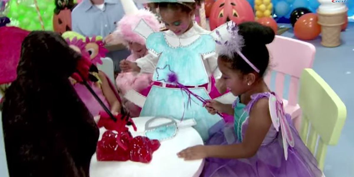 VIDEO: Toothpaste brand says Halloween candy makes kids crazy