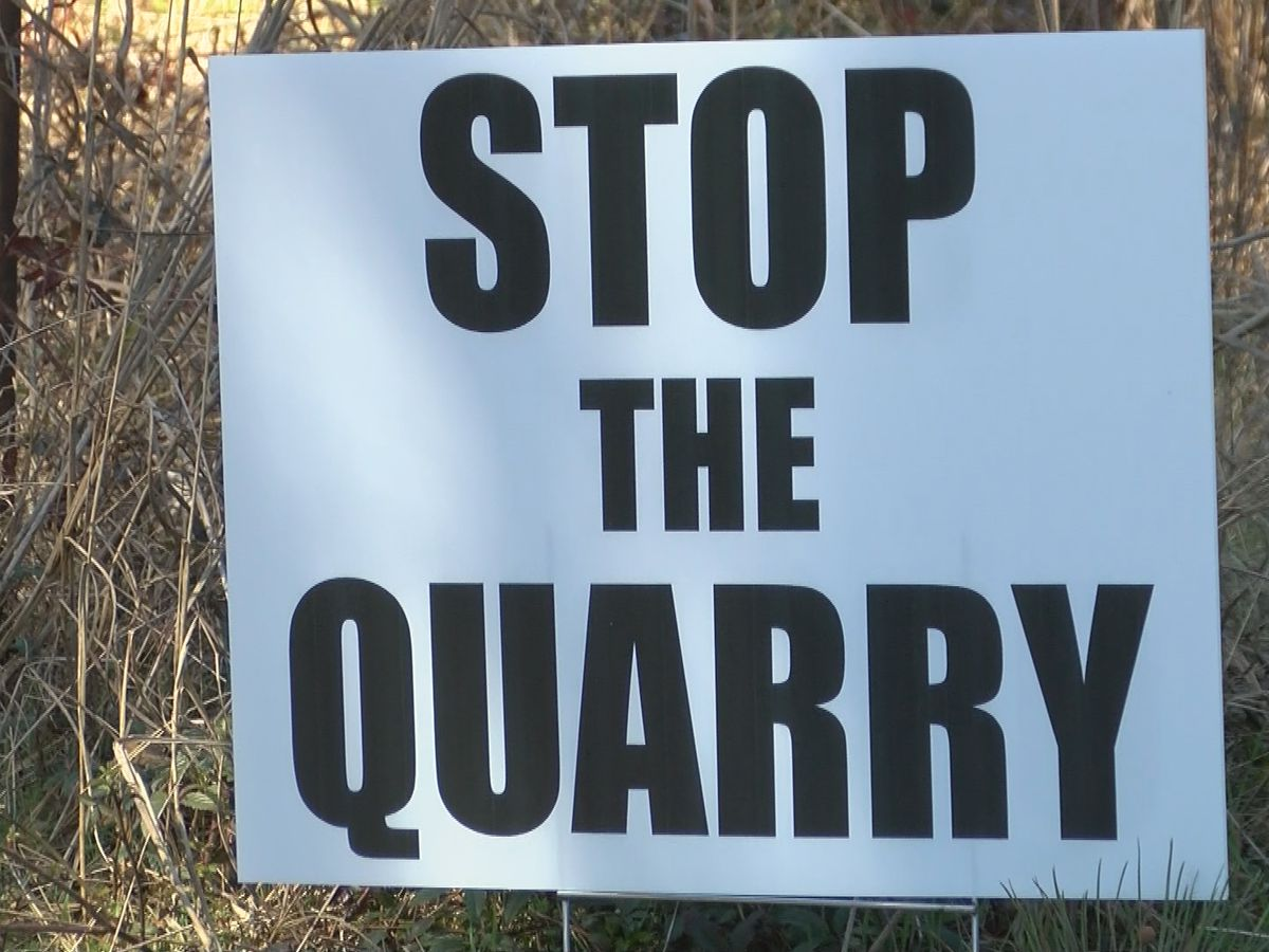 Proposed quarry causing concerns in Opelika