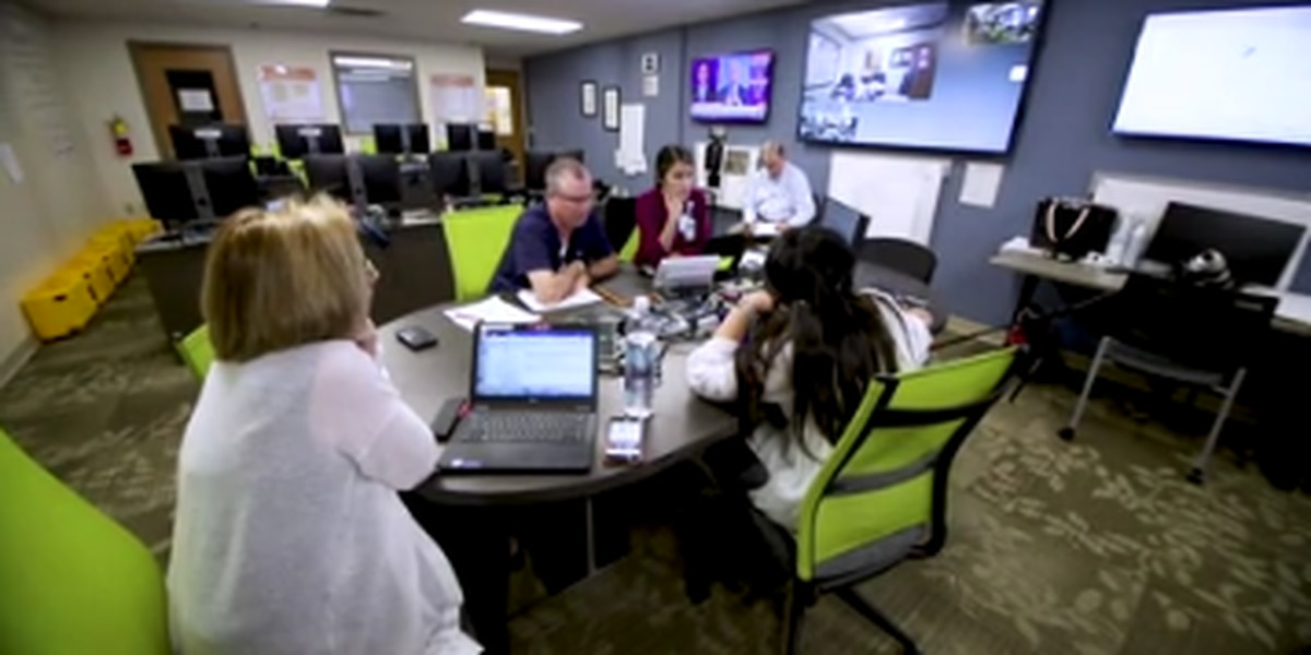 Hospital officials give inside look at Piedmont's COVID-19 incident command center