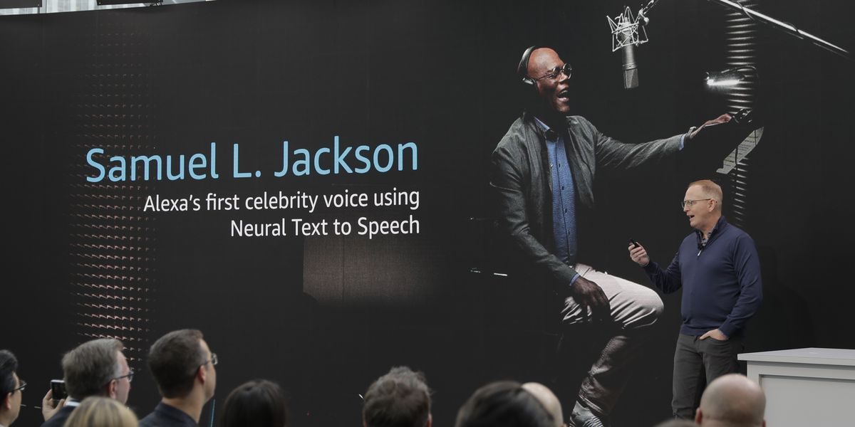 Alexa introducing celebrity voices, starting with Samuel L. Jackson