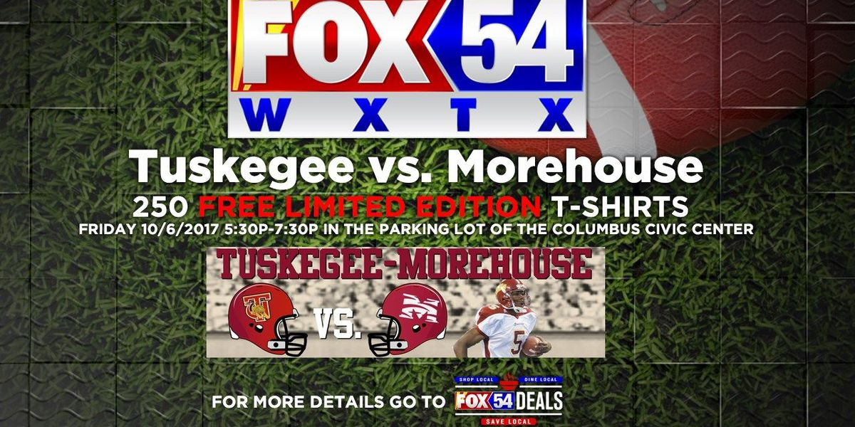 News Leader 9 on Fox 54 live at Tuskegee-Morehouse Classic tailgate