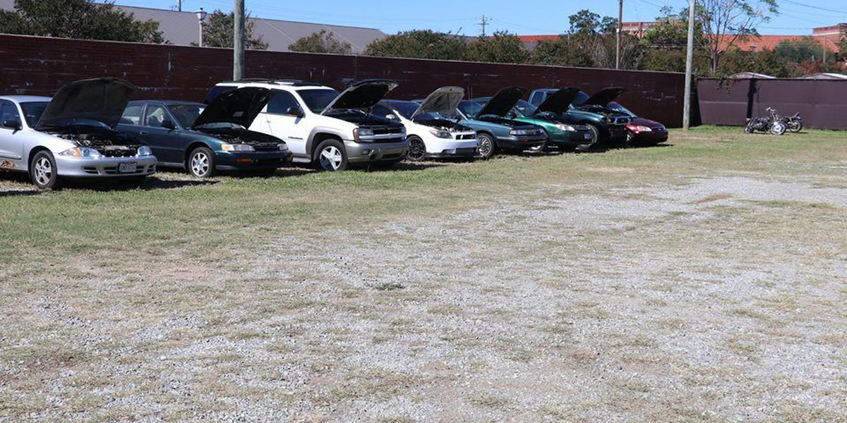 Fort Benning hosts used auto auction