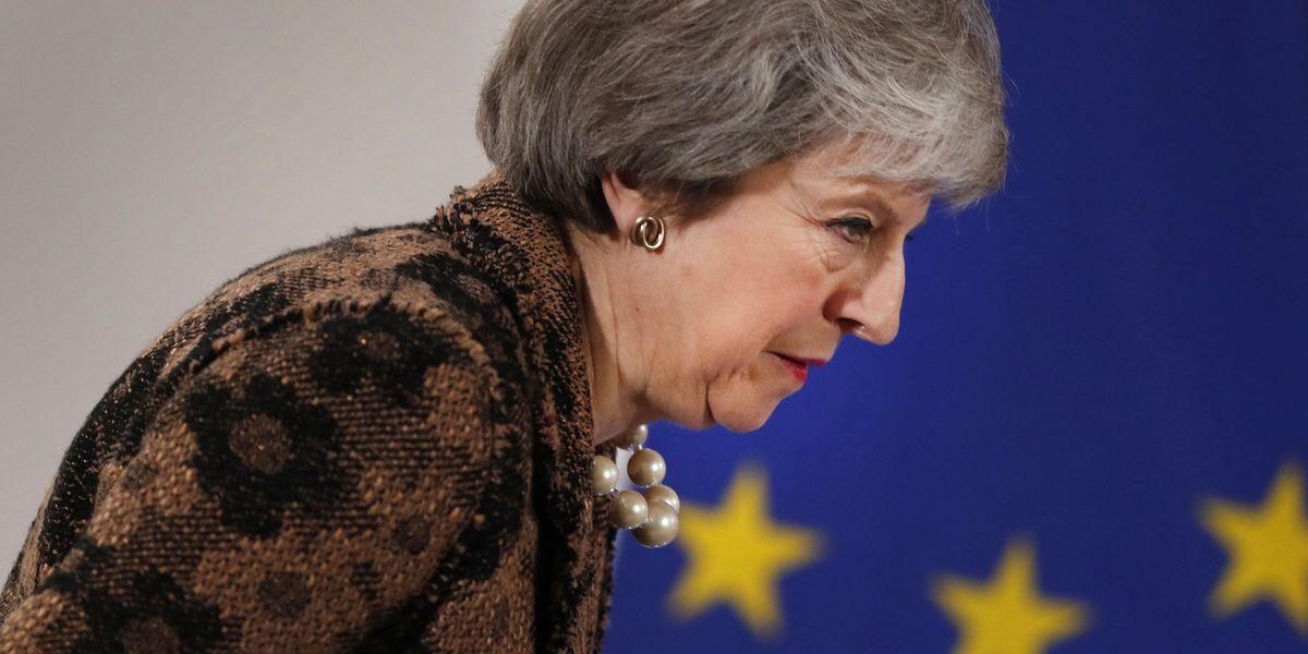 UK spat: Theresa May, Tony Blair trade Brexit snipes