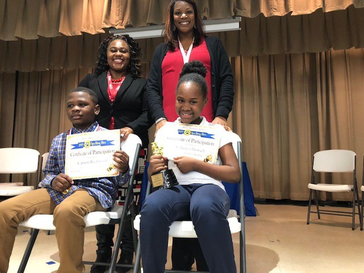 Brewer Elementary School in Columbus names spelling bee winner