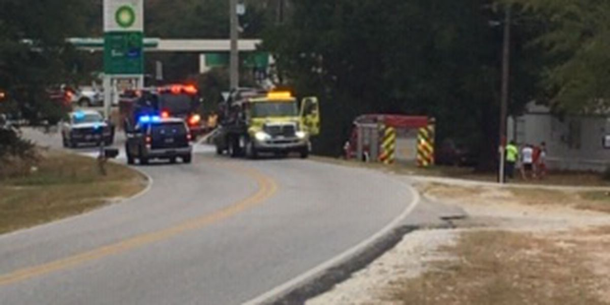 Lee Rd. 240 blocked in Smiths Station after head-on collision