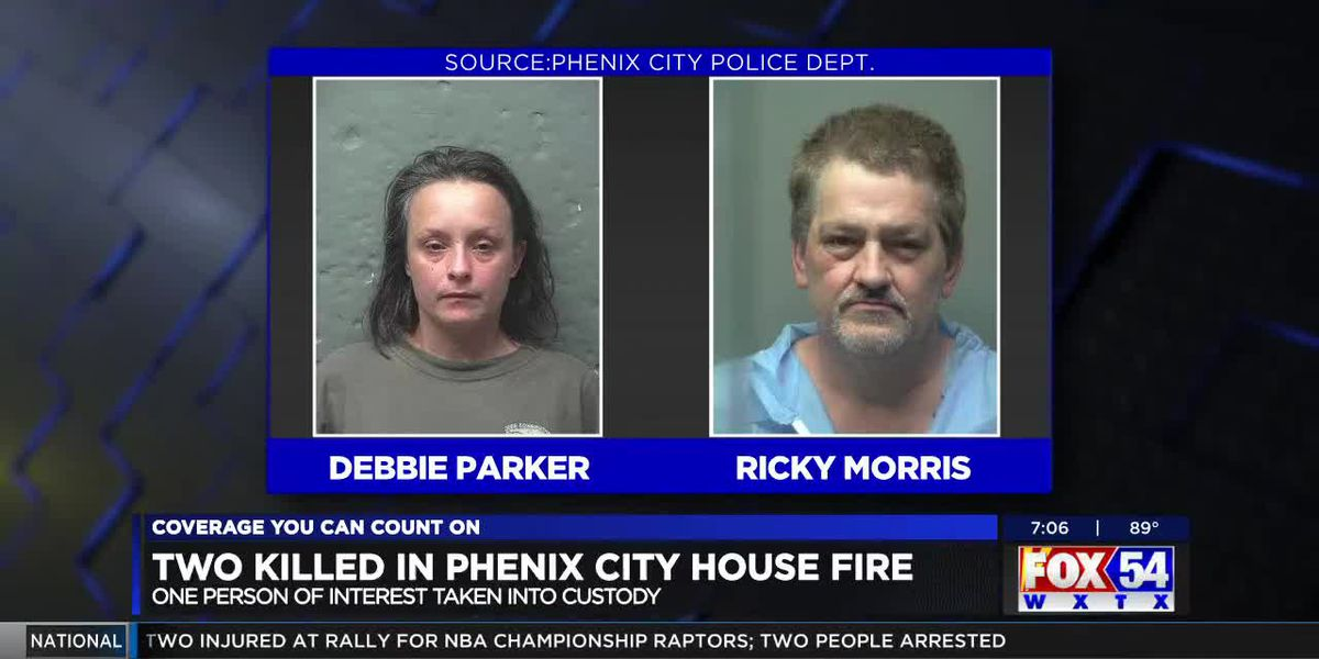 2 suspects charged in deadly fire on 43rd Ave. in Phenix City