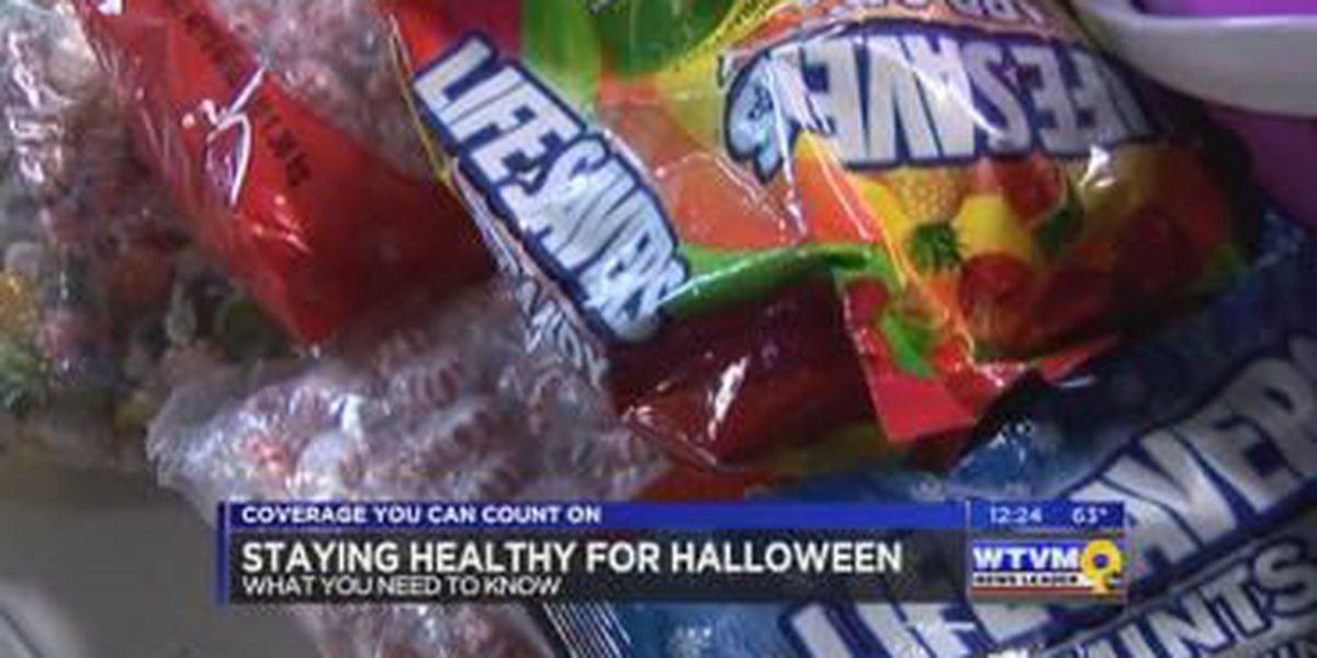 SEGMENT: Healthy tips for Halloween