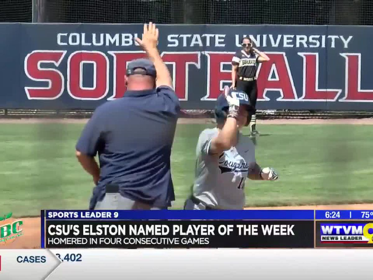 CSU's Elston named player of the week